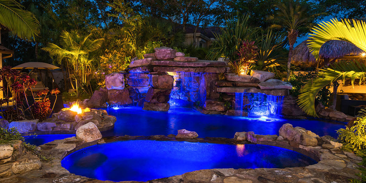 pool designs, home