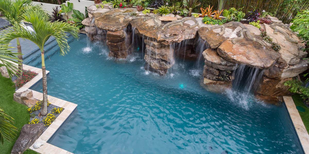 luxury pool designer