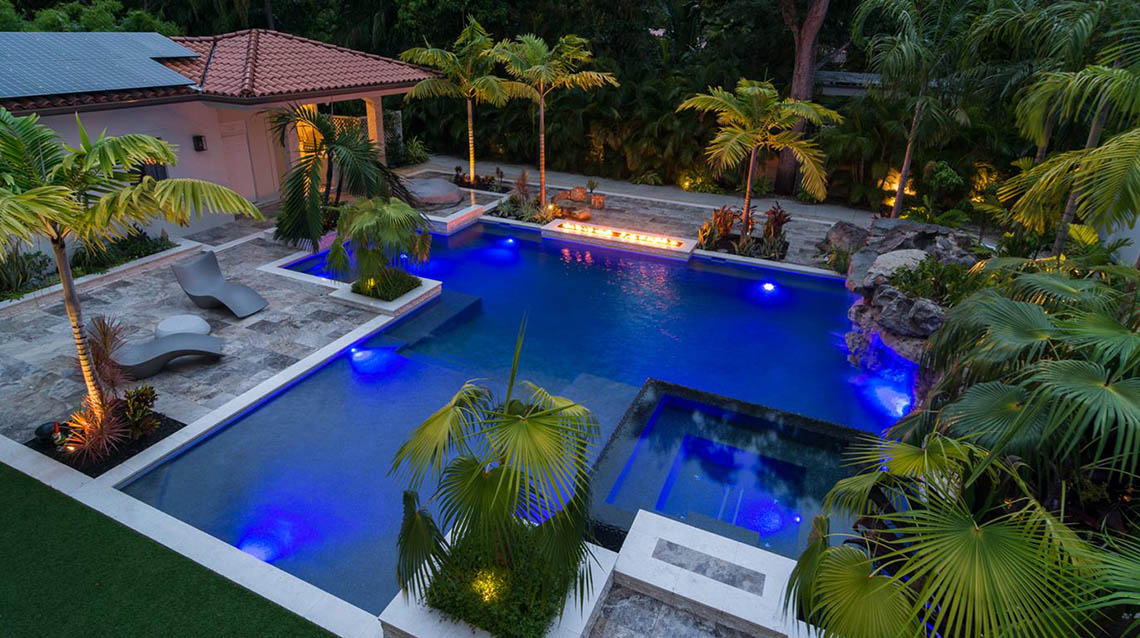 miami pool designer